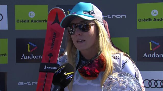 Shiffrin: I wanted to really, really earn it
