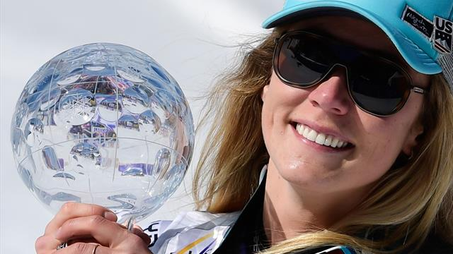 Shiffrin claims giant slalom title for fourth Crystal Globe of 2018-19