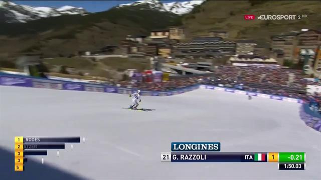 Giuliano Razzoli, che rimonta: da14° a sesto