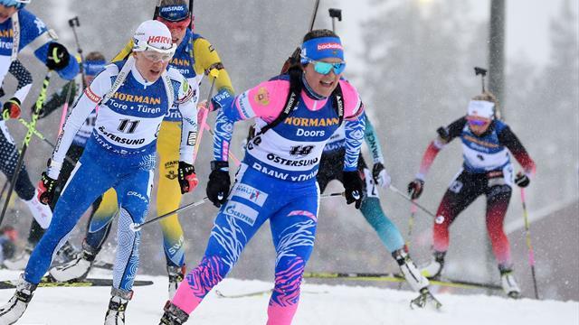 Highlights: Der Massenstart der Damen im Schnelldurchlauf