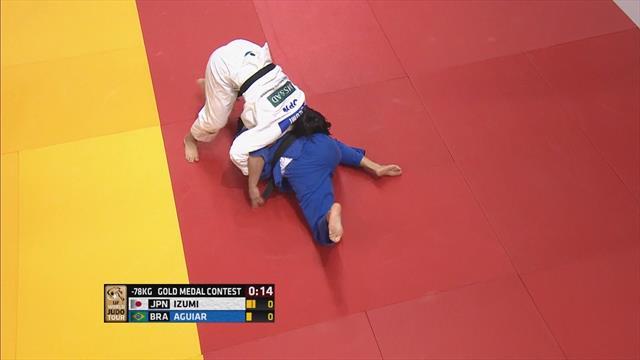 Izumi takes -78kg title in Ekaterinburg