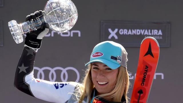 Mikaela Shiffrin se lleva también el Globo de Cristal de Gigante en Andorra