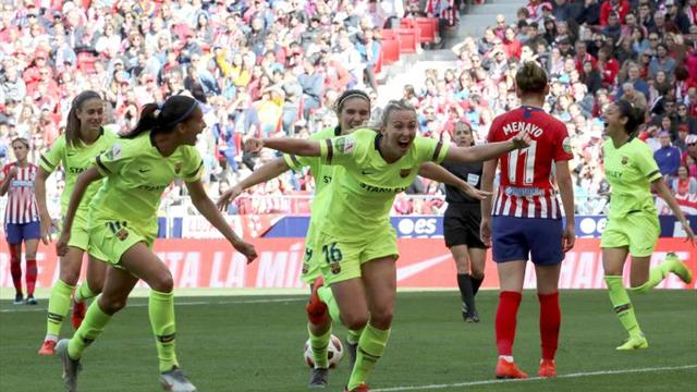 0-2. Gana el Barça, triunfa el fútbol femenino