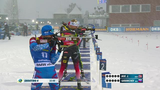 Cinq fautes pour Boe, quatre pour Garanichev : le dernier passage au tir a renversé les favoris !