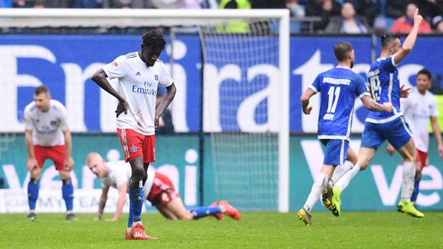 Nullrunde im Aufstiegsrennen: Köln-Spiel abgesagt, HSV mit bitterer Pleite