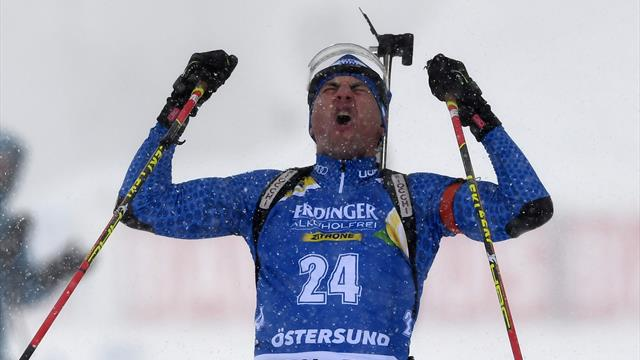 Biathlon: Dorothea Wierer nella storia, oro mondiale nella mass start
