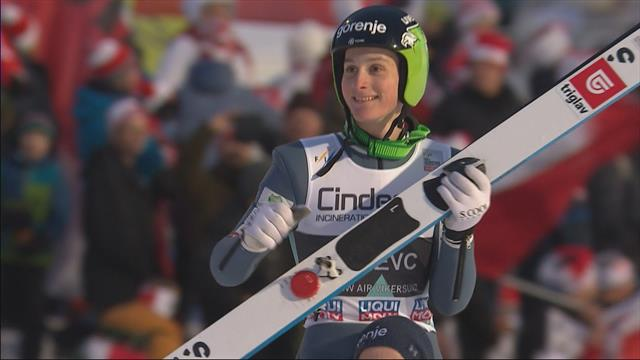 Sensational Prevc wins in Vikersund
