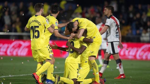 3-1. El Villarreal remonta ante un Rayo con dos caras