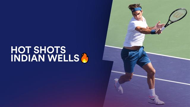Le passing de Federer face à Edmund est pour vous le plus beau point du Masters d'Indian Wells
