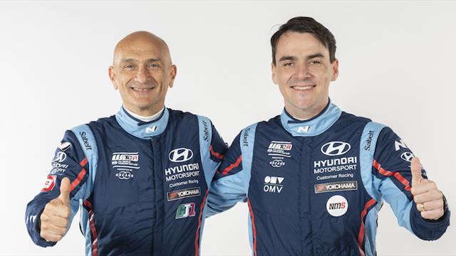 Michelisz and Tarquini remain team-mates as Hyundai-powered WTCR line-ups revealed