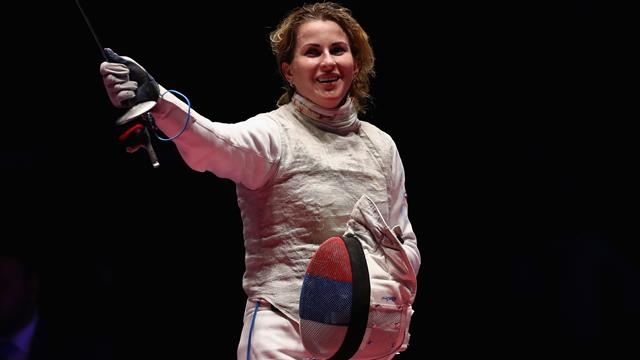 Russia's Deriglazova and France's Mertine land gold at FIE's Absolute Fencing Gear Grand Prix in