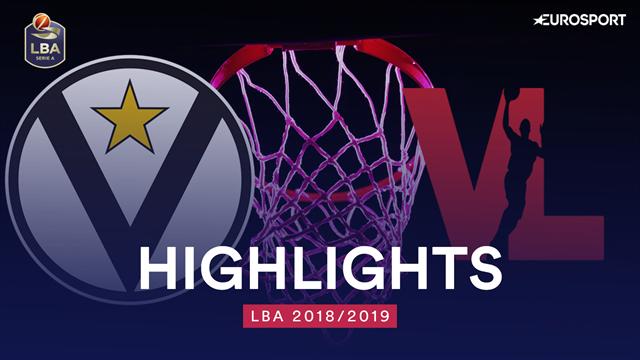Highlights: Segafredo Virtus Bologna-VL Pesaro 78-70