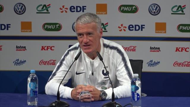 """Deschamps : Griezmann sous-coté en France ? """"Oui, certainement"""""""