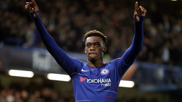 Chelsea's Callum Hudson-Odoi handed first England call-up
