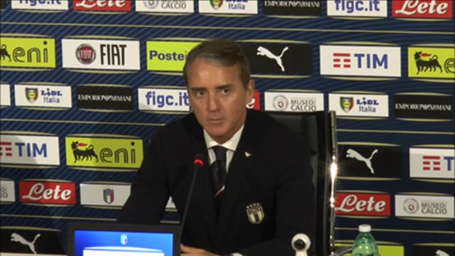 """Mancini: """"Balotelli non è ancora in forma, Zaniolo potrà esordire"""""""