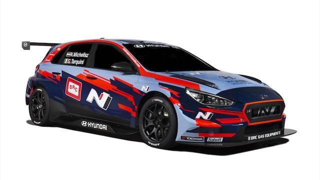 BRC Hyundai N Squadra Corse reveals its WTCR colours…