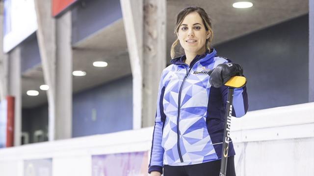 El sueño olímpico de la primera profesional española de curling, Irantzu García