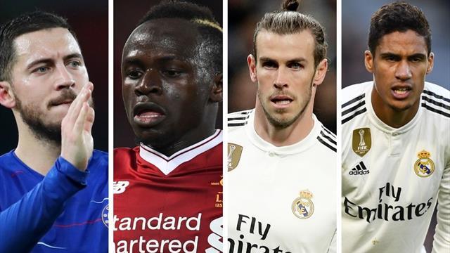 Varane, Bale, Varane, Hazaard, Mané: el nuevo Madrid que se viene