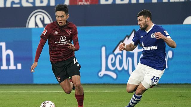 Fanfreundschaft im Abstiegskampf: Schalke und FCN mit besonderem Trikottausch