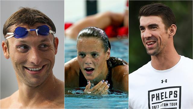 Phelps, Thorpe, Spitz… Ils sont revenus, avec plus ou moins de succès
