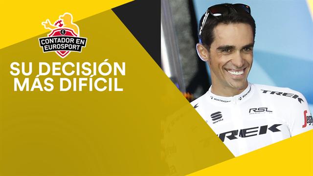 Contador en Eurosport: La caída que hizo que Alberto decidiese retirarse definitivamente