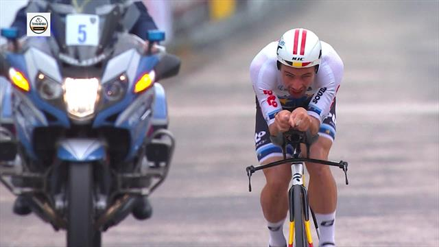 Tirreno-Adriático 2019: Victor Campenaerts vuela para llevarse la contrarreloj individual