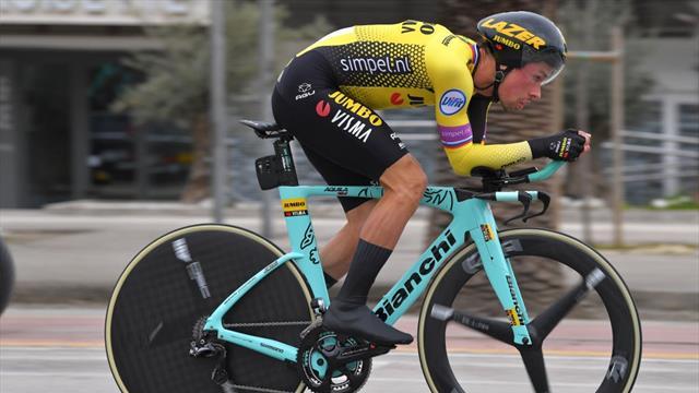 Tirreno-Adriático 2019: Roglic arrebata el tridente a Yates por un segundo; Etapa para Campenaerts