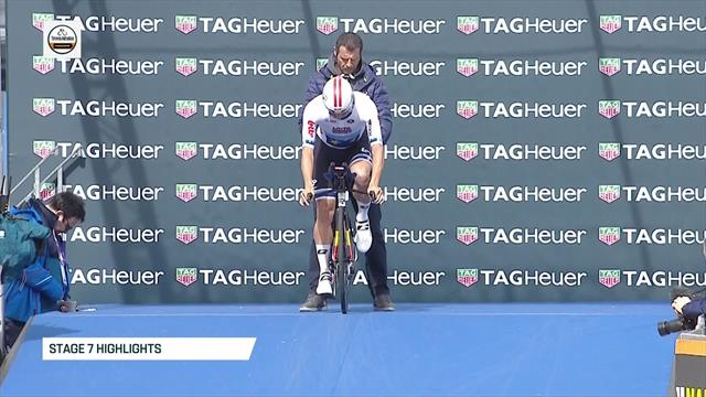 Highlights - Roglic snatches victory on final stage