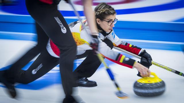 Genialer Stein für Deutschland bei der Curling-WM - und ein noch besserer Kommentar