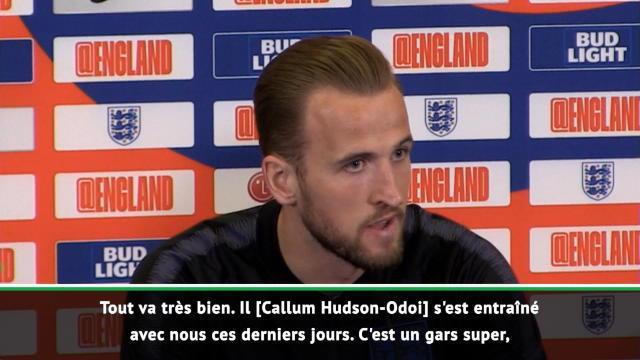 "Angleterre - Kane : ""Une opportunité pour Hudson-Odoi"""