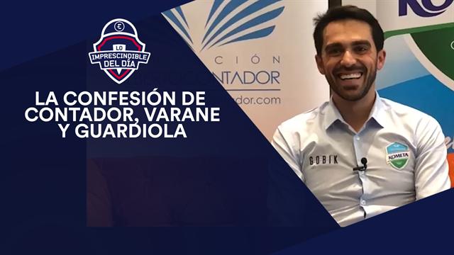 La confesión de Contador, Varane, Guardiola y lo imprescindible el del día