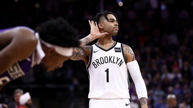Le comeback de l'année pour Russell et les Nets, Curry flambe
