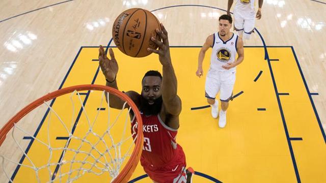 Harden y los Rockets eliminan a los Hawks