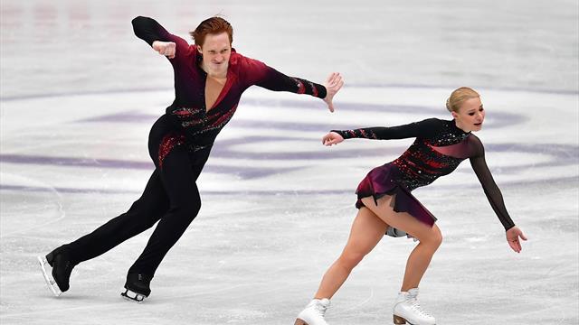 Un record sur la route vers l'or : Tarasova et Morozov ont illuminé Saitama