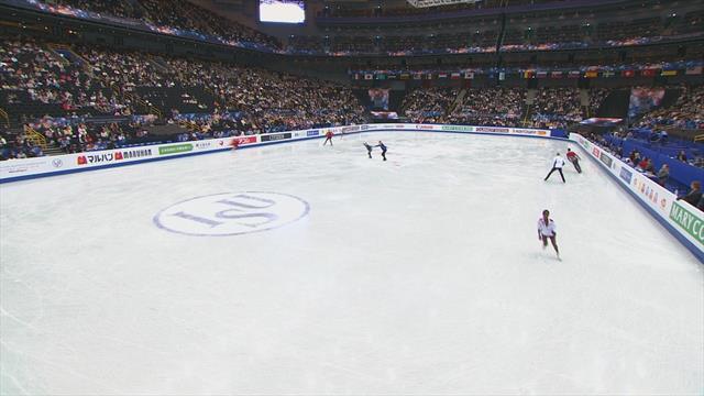 Действующие чемпионы Европы из Франции завалили прокат. Все из-за страшного столкновения на разминке