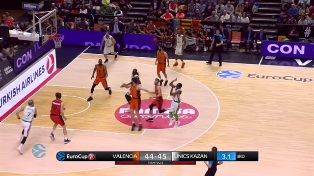 Semifinale gara 1, highlights: Valencia Basket - Unics Kazan 69-64