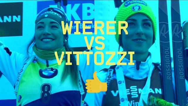 """Wierer vs Vittozzi: """"Siamo amiche ma fuori dalla pista non parliamo mai di biathlon"""""""