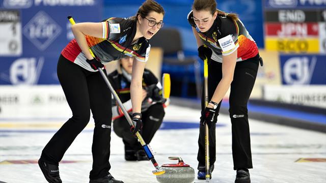 Curling-WM: Vierte Niederlage für deutsche Frauen