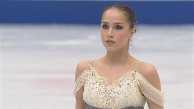 Zagitova shines in World Championships short program
