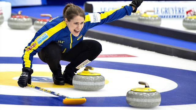 Sweden stun in-form Russia at Women's Curling World Championships