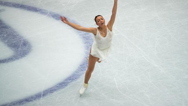 Eiskunstlauf-WM: Schott nach gutem Kurzprogramm Zwölfte