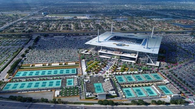 Le Miami Hard Rock Stadium, celui qui pourrait ringardiser les Grands Chelems