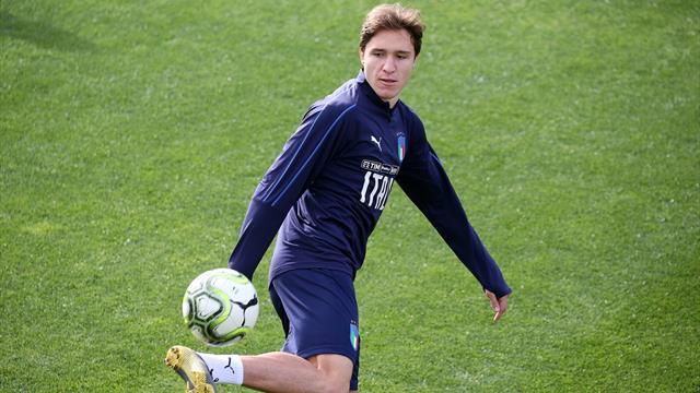 Italia, tentazione Kean per Mancini: è in ballottaggio con Politano
