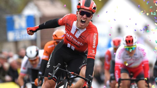 Cees Bol gives Sunweb first victory of season in Flanders