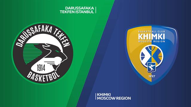Highlights: Darussafaka Tekfen-Khimki Mosca 91-85