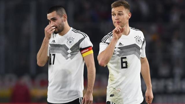 Amistosos Internacionales Alemania apenas rescató un empate ante Serbia