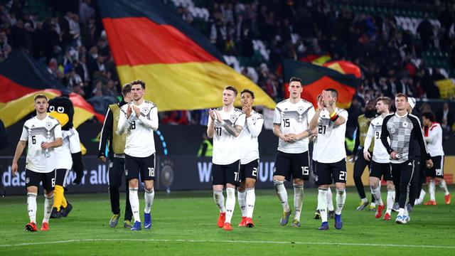 New-look Germany make promising start with Serbia draw despite horror tackle on Sane
