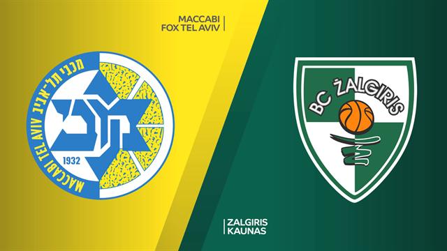 Highlights: Maccabi Fox Tel Aviv-Zalgiris Kaunas 83-85