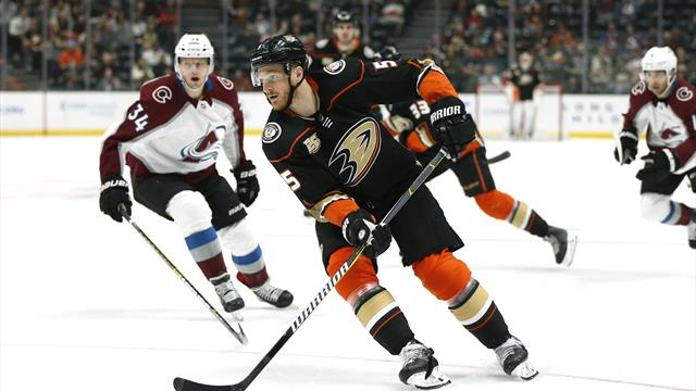 NHL: Holzer verliert mit den Ducks
