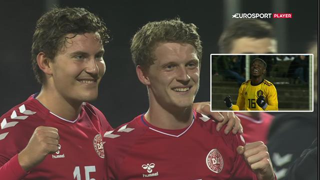 Highlights: Uheldig Valentin igangsatte belgisk offensiv, men Stage sikrede dansk sejr